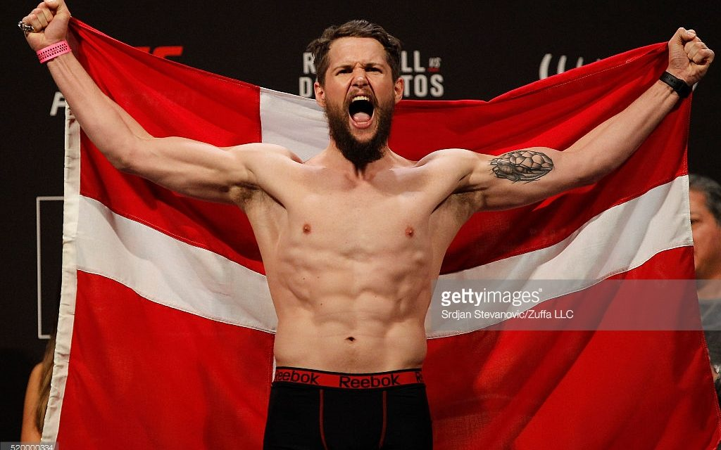 Prva UFC priredba u Danskoj zakazana za 27 maj!
