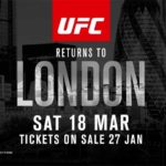 """UFC: Fight Night London"" je dobio glavnu borbu večeri!"