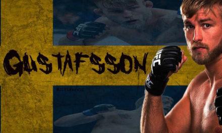 Gustafsson: Spreman sam za borbu uskoro!