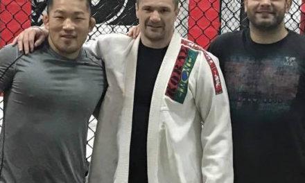 Mirko Filipović trenira sa njegovim dvostrukim protivnikom, Satoshi Ishii-em!