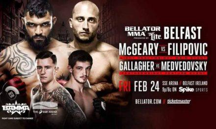 Vladimir Filipović potpisao za Bellator, već u petak se bori u Belfastu!