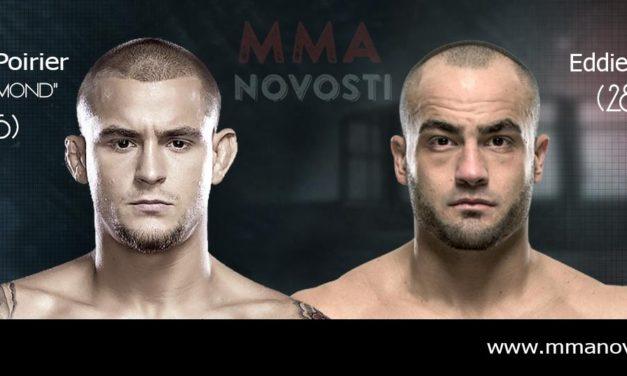 Glasine! Eddie Alvarez protiv Dustin Poiriera na UFC211!