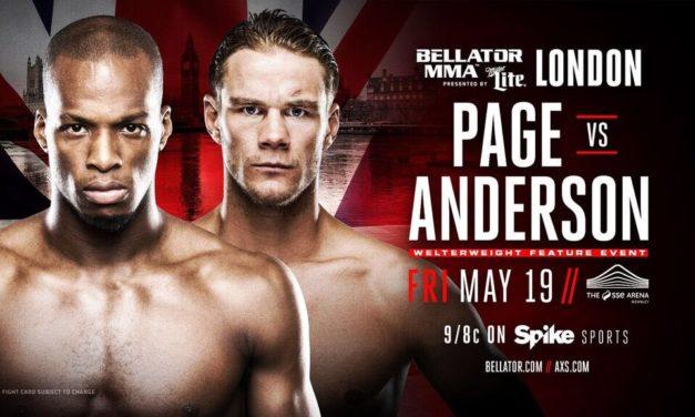 "Michael ""Venom"" Page protiv Derek Andersona na Bellator 179!"