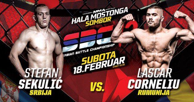 Stefan Sekulić protiv Lascar Cornelia na SBC12!
