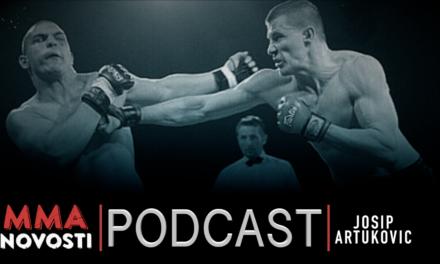 MMANovosti- Podcast #36 – Josip Artuković i Zlatko Ostrogonac – Povrede, plate u MMA…