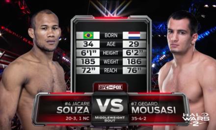 Pogledajte borbu između Gegarda Mousasi i Ronalda Souze! (VIDEO)