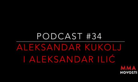 Podcast #34- Aleksandar Kukolj, Aleksandar Ilić i Zlatko Ostrogonac – Džudo u MMA, povrede, UFC208…