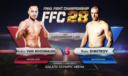 Robin Van Roosmalen protiv Risto Dimitrova na FFC28!