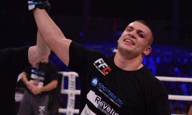 Darko Stošić pobedio prekidom u prvoj rundi!
