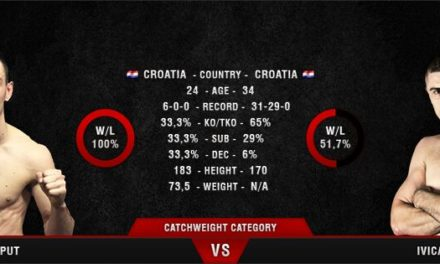 Karlo Caput protiv Ivice Truščeka na Gladiators Night 11!