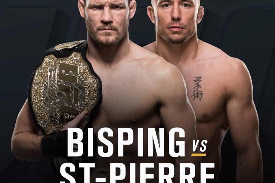 ZVANIČNO! Georges St-Pierre protiv Michael Bispinga!