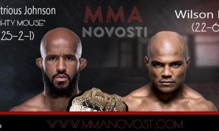 UFC on FOX 24: Demetrious Johnson vs. Wilson Reis