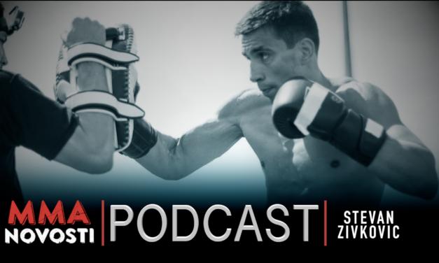 MMANovosti- Podcast #40 – Stevan Živković i Zlatko Ostrogonac -Bolest koja mu završila karijeru, FFC…