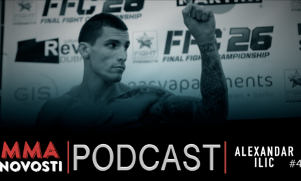 MMANovosti- Podcast #41 – Aleksandar Ilić, Zlatko Ostrogonac- UFC209, prognoze za UFC FN106