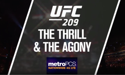 """Pogledajte """"The Thrill and the Agony"""" za UFC209!"""