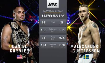 Pogledajte celu borbu između Daniel Cormiera i Alexander Gustafssona! (VIDEO)