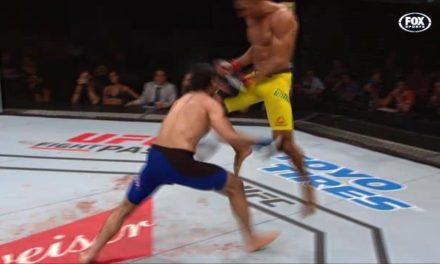 """Edson Barboza Jr nokautirao Dariusha prelepim """"letećim kolenom""""! (VIDEO)"""