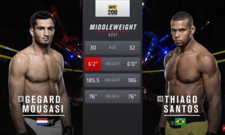 Pogledajte borbu između Gegarda Mousasia i Thiago Santosa! (VIDEO)