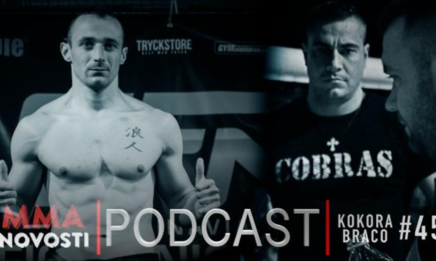 MMANovosti- Podcast #45 Danijel Kokora, Braco Tasic, Zlatko Ostrogonac  (VIDEO)