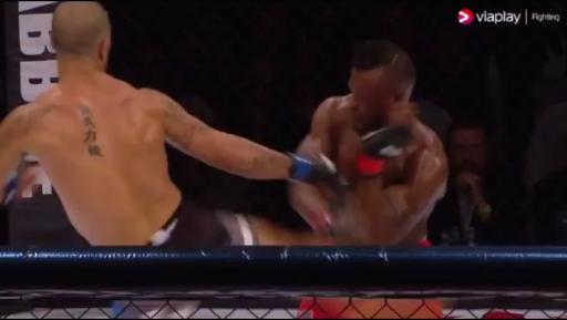 """Pogledajte prelep """"headkick"""" nokaut koji se dogodio u borbi između dva bivša UFC borca! (VIDEO)"""