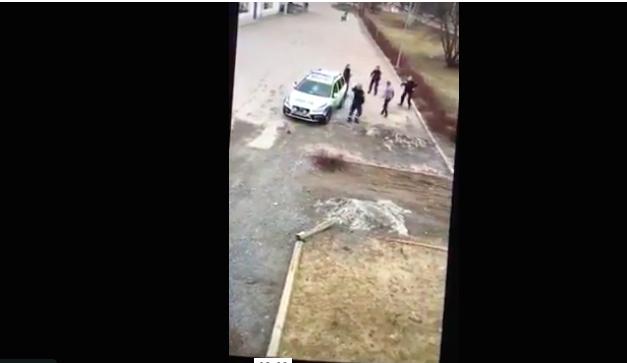 Da li je Švedskoj policiji potrebno malo MMA treninga? (VIDEO)