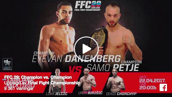 Pogledajte video najavu i spisak borbi za odlični FFC29!
