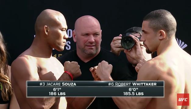 Ko pobeđuje Ronaldo Souza ili Robert Whittaker?