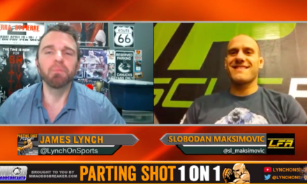 Pogledajte najnoviji intervju sa Slobodanom Maksimovićem uoči njegove borbe na LFA10! (VIDEO)
