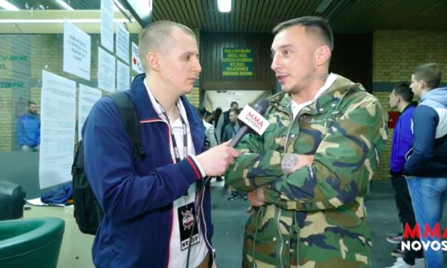 MMANovosti: Intervju sa Dušanom Džakićem oko prve priredbe MEGDANA i povratku (VIDEO)