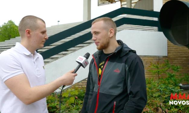 Intervju sa Aleksandrem Terzićem oko borbe na MFC5! (VIDEO)