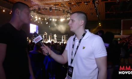 Intervju sa Čedom Pantićem nakon borbe u subotu! (VIDEO)