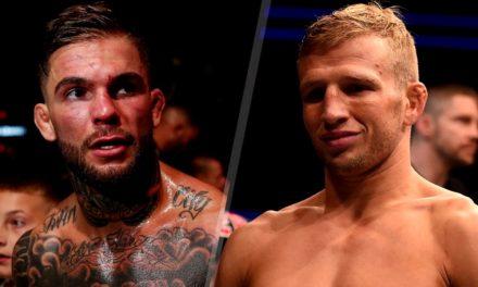 Dana White potvrdio Cody Garbrandt protiv TJ Dillashawa na UFC213!