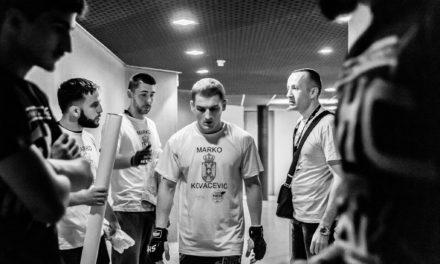 Marko Kovačević: U slučaju da osvojim Cage Warriors pojas sam bliži UFC-u! (VIDEO)