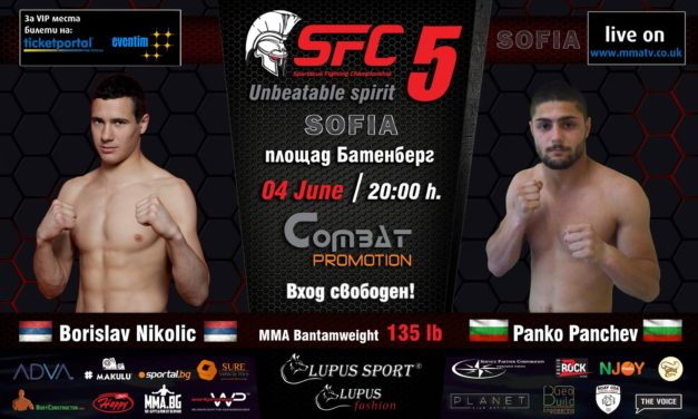 Borislav Nikolić protiv Panka Pancheva na SFC5!