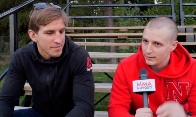EKSKLUZIVNO! Intervju sa Bojanom Veličkovićem uvezi borbe u Stockholmu! (VIDEO)