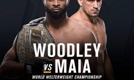 ZVANIČNO! Tyron Woodley protiv Demian Maia-e na UFC214!