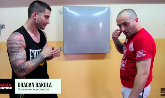 """Borilačke tehnike sa Draganom Bakulom """"bokserske kombinacije"""" #2 (VIDEO)"""