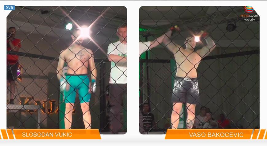 Vaso Bakočević pobedio Slobodan Vukića prekidom u prvoj rundi, pogledajte celu borbu! (VIDEO)