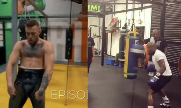 McGregor i Mayweather izbacili snimke sa njihovih treninga! (VIDEO)