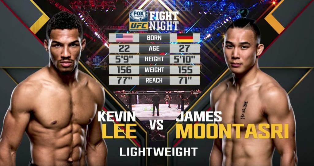 """Besplatna borba """"Kevin Lee vs James Moontasri""""! (VIDEO)"""