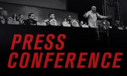 Pogledajte konferenciju za štampu nakon UFC Fight Night 110! (VIDEO)