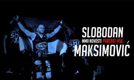 MMANovosti- Podcast #56 – Slobodan Maksimović i Zlatko Ostrogonac – UFC213, karijera…