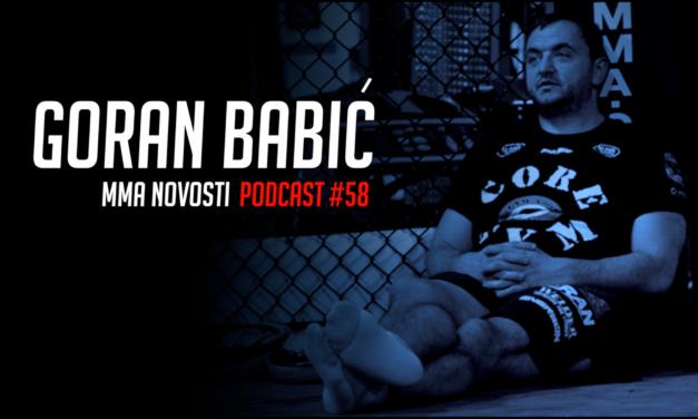 "MMANovosti- Podcast #58- Goran ""Hambi"" Babić i Zlatko Ostrogonac- Sparing, svetska MMA scena…"