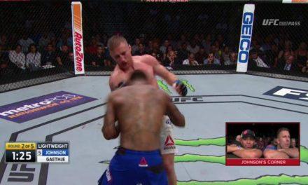 Pogledajte najbolje delove borbe između Justin Gaethjea i Michael Johnsona! (VIDEO)