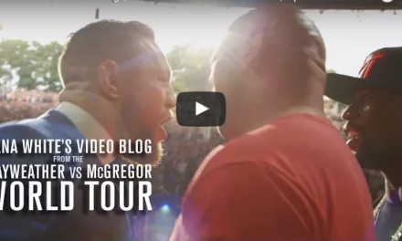 Dana Whites Video Blog: Conor McGregor vs Floyd Mayweather world tour- četvrti deo (VIDEO)