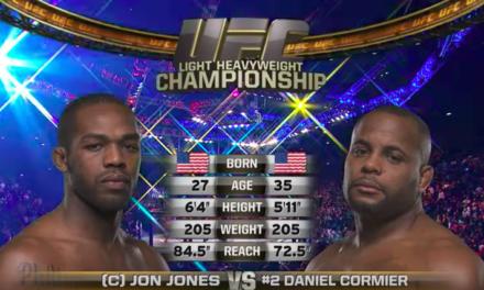 Pogledajte prvu borbu između Jon Jonesa i Daniel Cormiera! (VIDEO)