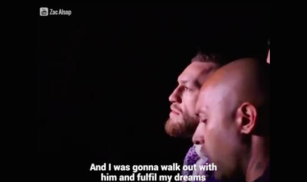 Neverovatno! Pogledajte kako je fan uspeo da se ubaci na konferenciju McGregor-Mayweather!
