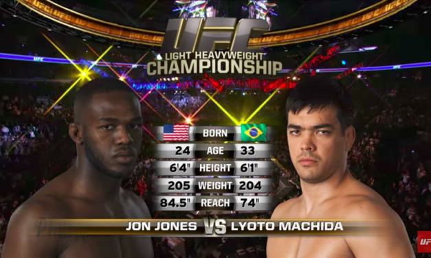 "UFC nas časti borbom ""Jon Jones vs. Lyoto Machida"" (VIDEO)"