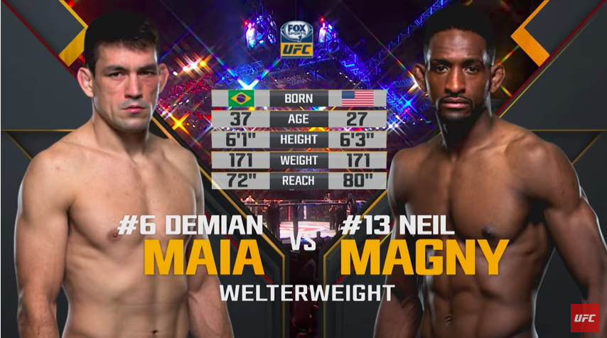Prisetimo se borbe između Demian Maiae i Neil Magnya! (VIDEO)