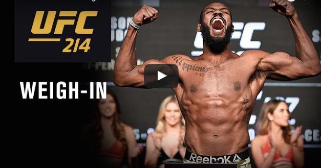 Gledajte merenje za publiku uoči UFC214 uživo sa početkom u 02:00h! (VIDEO)